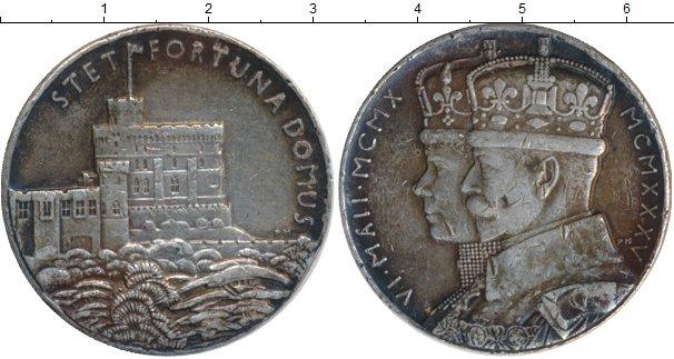 Картинка Монеты Великобритания Медаль Серебро 1935