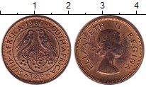 Изображение Монеты Великобритания Южная Африка 1/4 пенни 1960 Бронза VF