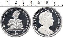 Изображение Монеты Великобритания Остров Мэн 1 крона 2001 Серебро Proof