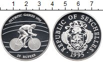 Изображение Монеты Сейшелы 25 рупий 1995 Серебро Proof