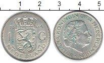 Изображение Монеты Нидерланды 1 гульден 1964 Серебро