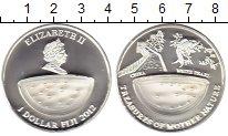 Изображение Монеты Фиджи 1 доллар 2012 Серебро Proof