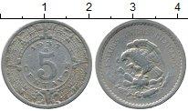 Изображение Монеты Мексика 5 сентаво 1937 Медно-никель VF