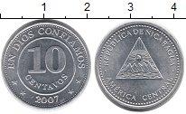 Изображение Монеты Никарагуа 10 сентаво 2007 Алюминий UNC-