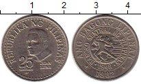 Изображение Монеты Филиппины 25 сентим 1982 Медно-никель XF