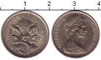 Изображение Монеты Австралия 5 центов 1980 Медно-никель XF