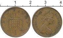 Изображение Дешевые монеты Великобритания 1 пенни 1973