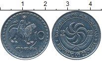 Изображение Дешевые монеты Грузия 10 тетри 1993