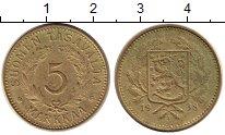Изображение Монеты Финляндия 5 марок 1938 Латунь XF