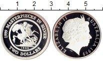 Изображение Монеты Австралия 2 доллара 1999 Серебро Proof