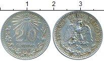 Изображение Монеты Мексика 20 сентаво 1937 Серебро XF