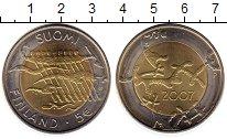 Изображение Монеты Финляндия 5 евро 2007 Биметалл UNC-