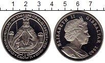 Изображение Мелочь Великобритания Гибралтар 1 крона 2003 Медно-никель UNC