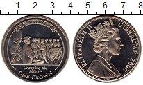 Изображение Мелочь Гибралтар 1 крона 2006 Медно-никель UNC