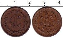 Изображение Монеты Мексика 1 сентаво 1946 Бронза XF
