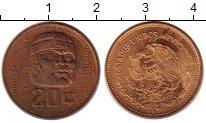 Изображение Монеты Мексика 20 сентаво 1984 Бронза XF