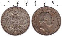 Изображение Монеты Саксония 3 марки 1910 Серебро XF