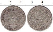 Изображение Монеты Гамбург 4 шиллинга 1725 Серебро VF+