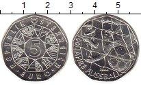 Изображение Мелочь Австрия 5 евро 2004 Серебро UNC-