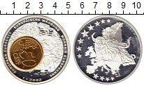 Изображение Монеты Либерия 1 доллар 2002 Посеребрение Proof-