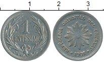 Изображение Монеты Уругвай 1 сентесимо 1901 Медно-никель XF