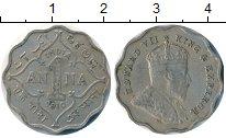 Изображение Монеты Индия 1 анна 1910 Медно-никель VF