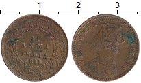 Изображение Монеты Индия 1/12 анны 1895 Медь XF