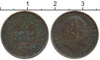 Изображение Монеты Индия 1/12 анны 1910 Бронза VF