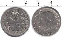 Изображение Монеты Гаити 10 сантим 1949 Медно-никель VF