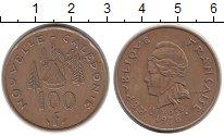 Изображение Монеты Франция Новая Каледония 100 франков 1976 Бронза XF