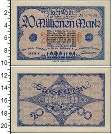 Банкнота Германия : Нотгельды 20000000 марк 1923 XF фото
