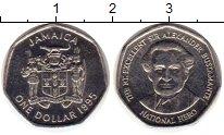 Изображение Монеты Ямайка 1 доллар 1995 Медно-никель UNC-