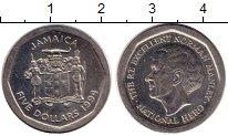 Изображение Монеты Ямайка 5 долларов 1994 Медно-никель UNC-