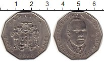 Изображение Монеты Ямайка 50 центов 1986 Медно-никель XF
