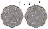 Изображение Монеты Карибы 5 центов 1981 Алюминий XF