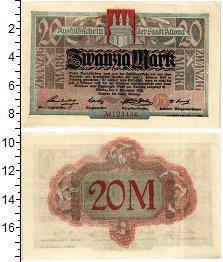 Банкнота Германия : Нотгельды 20 марок 1918 XF
