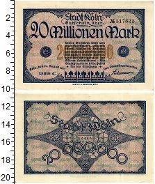 Изображение Банкноты Германия : Нотгельды 20000000 марк 1923  XF