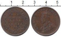 Изображение Монеты Индия 1/4 анны 1913 Бронза VF
