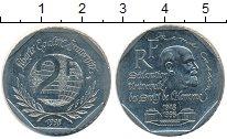 Изображение Мелочь Франция 2 франка 1998 Медно-никель UNC-