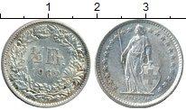 Изображение Монеты Швейцария 1/2 франка 1962 Серебро XF