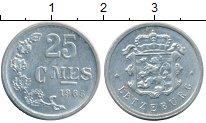 Изображение Монеты Люксембург 25 сантим 1965 Алюминий XF