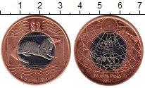 Изображение Монеты Северный Полюс 2 доллара 2012 Биметалл UNC-