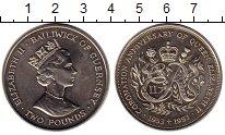 Изображение Монеты Великобритания Гернси 2 фунта 1993 Медно-никель UNC