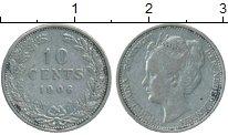 Изображение Монеты Нидерланды 10 центов 1906 Серебро XF