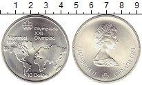 Изображение Монеты Канада 10 долларов 1973 Серебро UNC