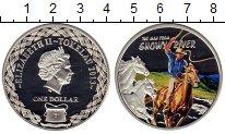 Изображение Монеты Токелау 1 доллар 2013 Серебро Proof