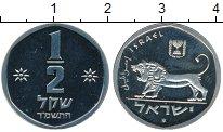 Изображение Монеты Израиль 1/2 шекеля 1984 Медно-никель Proof-
