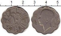 Изображение Монеты Ирак 10 филс 1937 Медно-никель XF