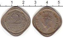 Изображение Монеты Индия 2 анны 1939 Медно-никель VF