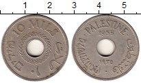 Изображение Монеты Палестина 10 милс 1935 Медно-никель VF